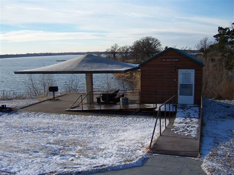 Kansas State Park Cabins by Milford Gallery Milford Locations State Parks