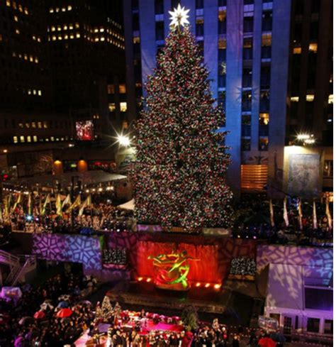 charitybuzz 4 vip tickets to the 2017 tree lighting