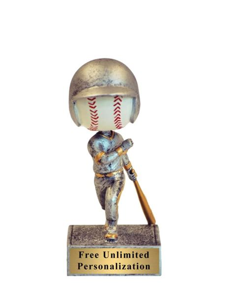 bobblehead trophy bobblehead baseball trophy k2 awards and apparel