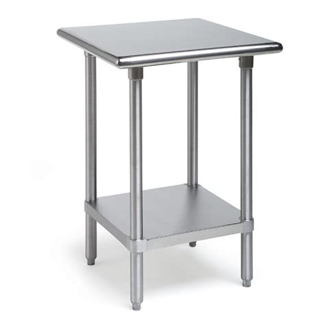 small stainless steel table stainless steel kitchen workbenches williams sonoma