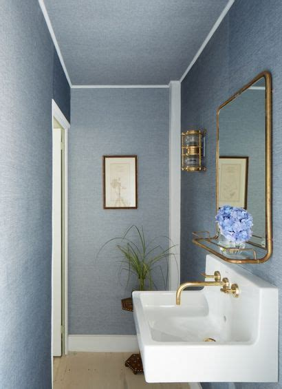 Bathroom Sinks Nyc by 17 Best Ideas About Blue Powder Rooms On