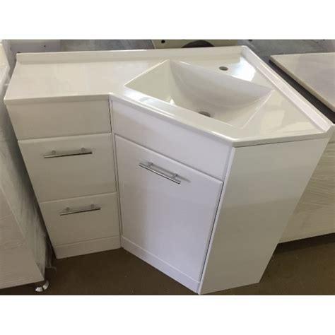 Interior : Corner Vanity Units With Basin Bathroom