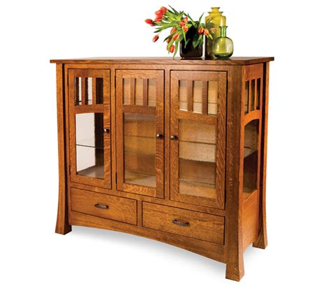 Amish Furniture Factory by Arlington High Buffet Amish Furniture Factory