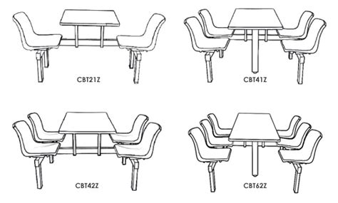 school canteen coloring page canteen table chairs units ese direct