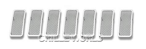 2013 Jeep Grand Grill Inserts For 2011 2013 Jeep Grand Stainless Steel Mesh