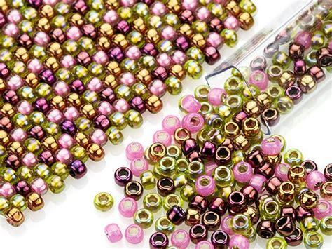 140 best artbeads designer seed bead blends toho images