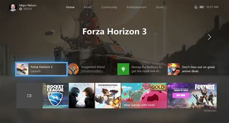 Xbox One Home Layout Change | xbox one is getting fluent design and a modular homepage