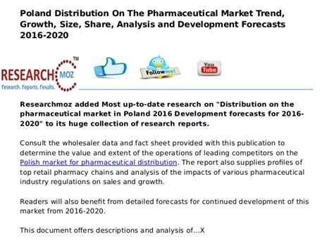 pharmaceutical market and healthcare services in poland poland distribution on the pharmaceutical market trend