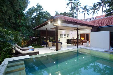 2 Bedroom Villas In Seminyak Bali by Pool Villa Seminyak Two Bedroom Open Living Villa