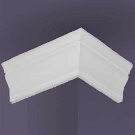 foam crown molding reviews style one 6 outside corner foam crown molding