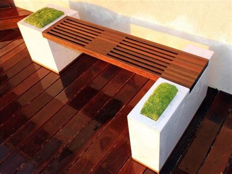 special built  bench planters  dream
