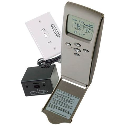 Fireplace Electronic Ignition System by Skytech 3301 Held Millivolt Thermostatic Remote