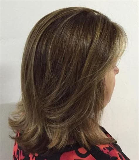 above the shoulder layered hairstyles 80 best modern haircuts and hairstyles for women over 50