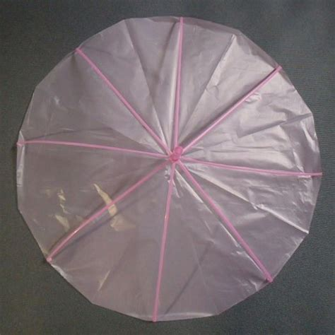 How To Make A Parachute Out Of Paper - make a parachute with a plastic bag and a straw