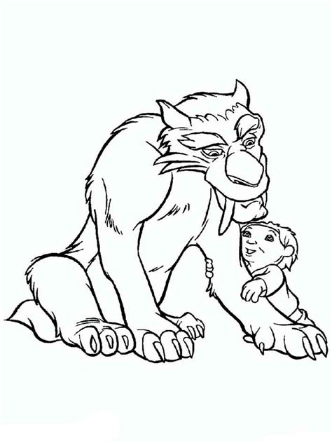 90 Coloring Pages Ice Age Page 2 Printable Coloring Pages Age Colouring Pages