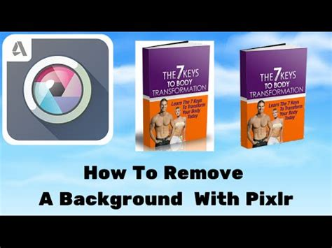 pixlr remove background how to remove background from a picture with pixlr