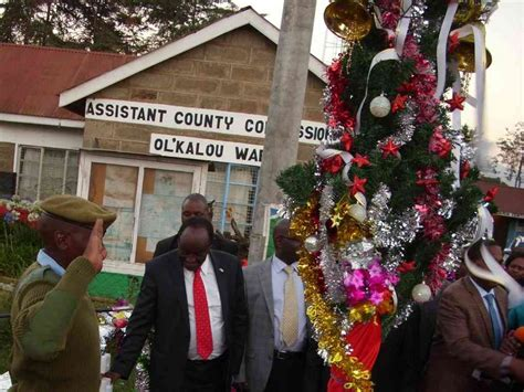 nyandarua denies spending sh2 million on christmas tree