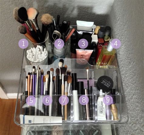 Vanity Organization by Makeup Vanity Organization Ms Tapioca