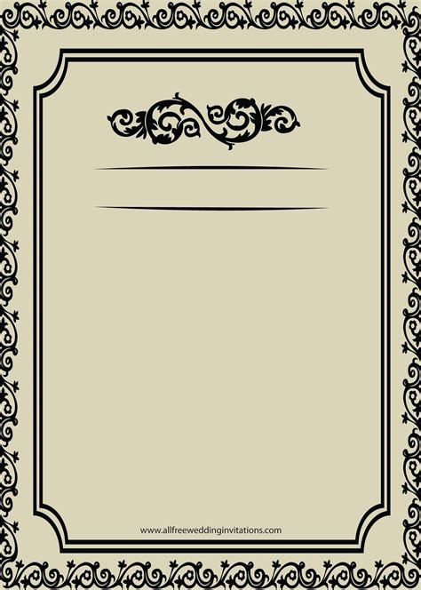 pengertian layout by stationary formal invitation border template images invitation