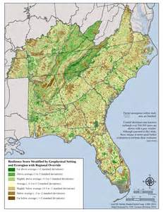 map of southeast coast united states southeast resilience