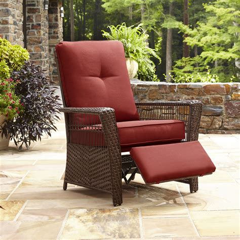 la z boy outdoor recliner la z boy outdoor scarlett recliner shop your way online