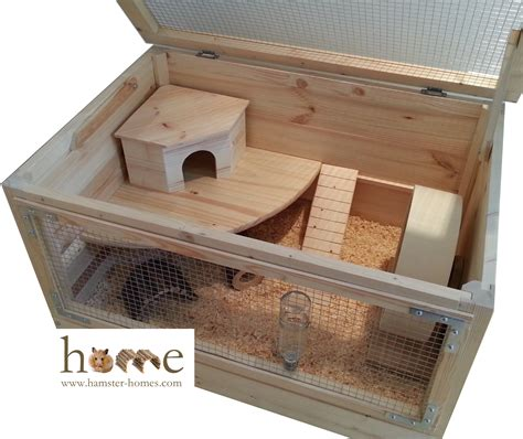 wooden cage large 80cm x 50cm wooden hamster cage