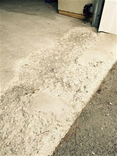 Repair Pitted Garage Floor by Residential Garage Floor Resurfacing And Repair Ma Ri
