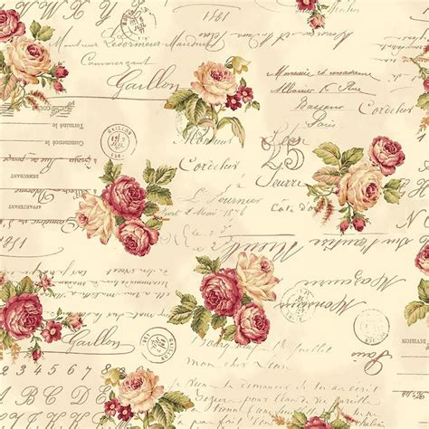 Roses Essay by Printable Background Printables Flowers Fabrics Paper And Scripts