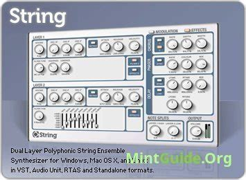 String Software - loomer plugins pack high quality audio software on linux