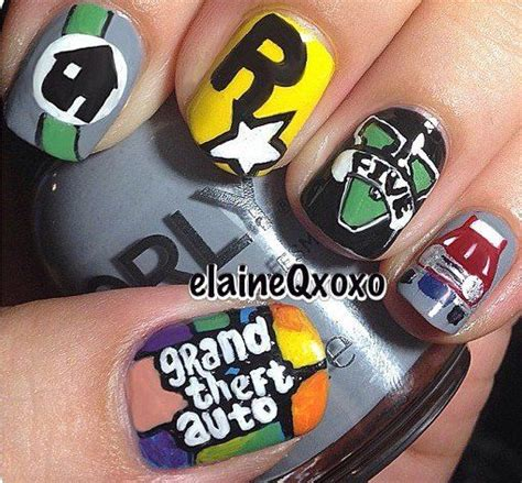 design nails game 17 best images about nails gamer on pinterest nail art