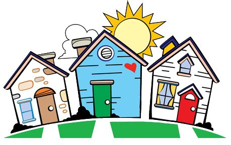 Neighborhood Clipart be a homework mrs ness and nessy s all