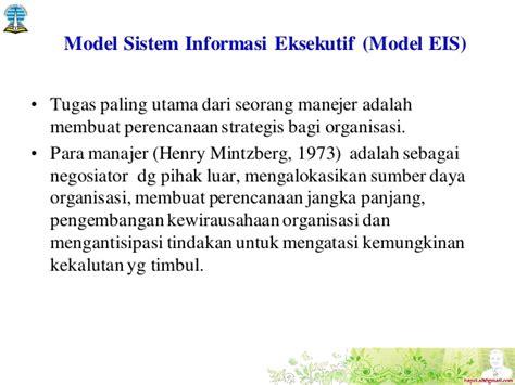 membuat agenda kegiatan organisasi adalah tugas seorang 4 hapzi ali sistem informasi eksekutif executive