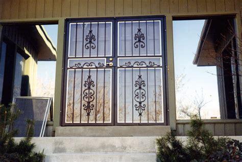 Security Gates For Front Doors Door Security Iron Front Door Security Gates