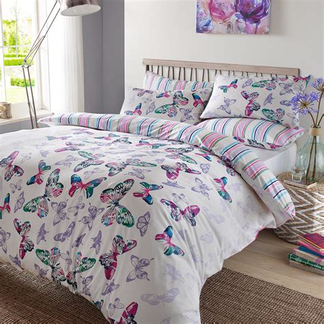 butterfly bedding sets dreamscene duvet cover with pillowcase polycotton bedding