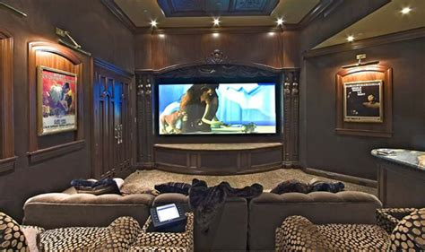 exclusive high end with sofas home theater designs for