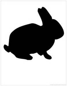 Cheap Black Armoire Bunny Silhouette Wall Hanging Mr Pavo Real Living