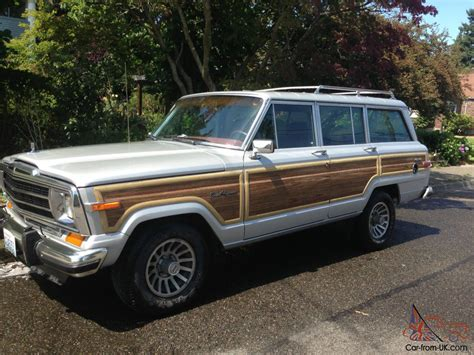 1988 jeep wagoneer beautiful 1988 jeep grand wagoneer low miles