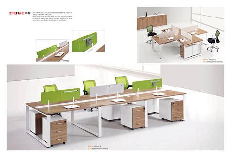 office furniture workstation modular office furniture wood box storage desk chair