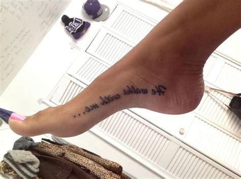 he walks with me tattoo 84 best images about tatuajes on tattoos