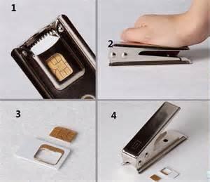 nano sim cutter the gadget