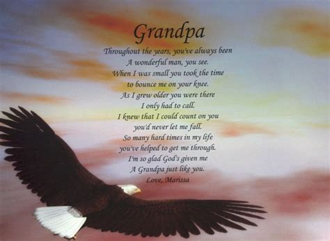 Birthday Quotes For Grandparents Grandpa Poem Birthday Father S Day Or Christmas Gift
