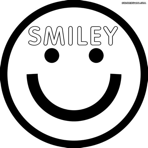 smiley face coloring pages coloring pages to download