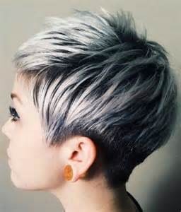 beautiful silver ombre hairstyles for hair