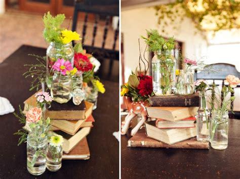 book wedding centerpieces 22 eye catching inexpensive diy wedding centerpieces