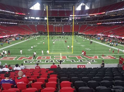 Mercedes Benz Stadium Section 101 Atlanta Falcons