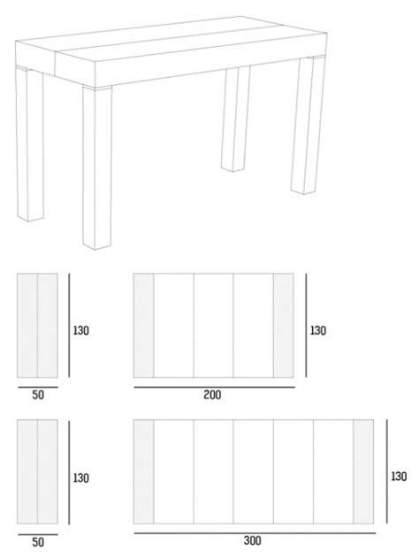 tavoli consolle allungabili riflessi consolle allungabile riflessi p300 e riflessi p190