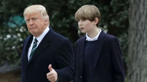 christian pulisic donald trump forget pulisic barron trump is now the biggest name in u