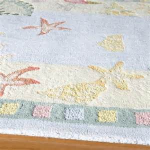 Themed Area Rugs Coastal Living Rugs Seashells Beach Themed Rug