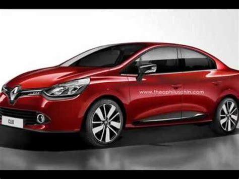 ff sedan 2014 renault clio sedan rendering released horsepower