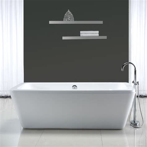 Ove Decors Kido 69 X 23 Quot Acrylic Freestanding Bathtub Reviews Wayfair